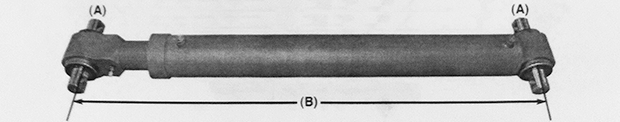 Kimble Tag Axle Cylinder - K-2000