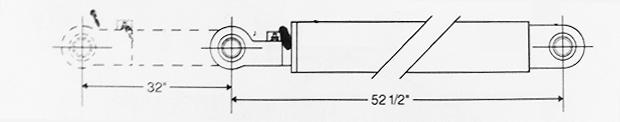 MTM Tag Axle Cylinder - BMV