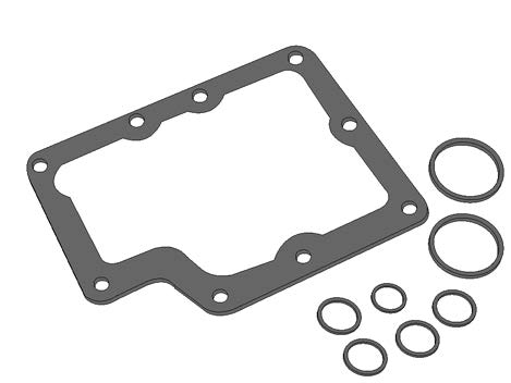 9510192 SUNSTRAND GASKET - CV, KIT, SS